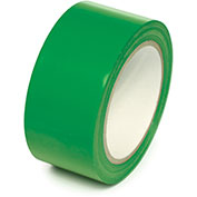 "Floor Marking Aisle Tape, Green, 3""W x 108'L Roll, PST311"