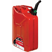 SMART FILL 5 Gallon Metal Jerry Gas Can, 85043