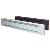 TPI Hydronic Baseboard Heater E3904-28C - 400W 120V Brown