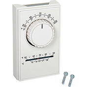 TPI Line Voltage Thermostat Single Pole Cool With Thermometer ET5SRTS