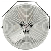 TPI U18CR,18 Inch Corrosion Resistant Workstation Fan-Wall/Ceiling 1/8 HP 1800 CFM