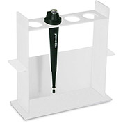 "TrippNT™ 50514 White Acrylic Vertical Pipette Stand, 10""W x 4""D x 10""H"