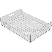 "TrippNT™ Perforated Tray For Large Portable Personal Desiccator (51398), 15""W x 3""D x 11""H"