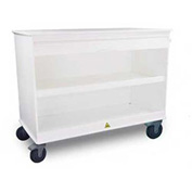 "TrippNT™ MRI Cayman Lab Island with 5"" Casters, 48""W x 24""D x 47""H, White"
