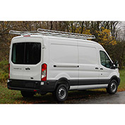 "12' Van Rack W/ 60"" Crossbars - '15 & Up Ford Transit Van 148WB - High/Med/Low Roof - 458144"
