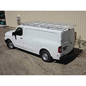 "12' Van Rack W/ 58"" Crossbars - Nissan NV Low Roof Van - 458500"