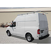 "10' Van Rack W/ 58"" Crossbars - Nissan NV High Roof Van - 458510"