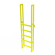 "U-Design Max-Access Aluminum Work Platforms - 6 Step 60""H 90 Deg. Stair Unit - UAP0690"