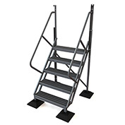 U-Design Rooftop Platforms - 5-Step 50 Degree Incline Ladder - URTL505
