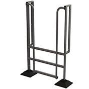 U-Design Rooftop Platforms - 3-Step 90 Degree Incline Ladder - URTL903