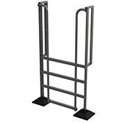 U-Design Rooftop Platforms - 4-Step 90 Degree Incline Ladder - URTL904