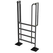 U-Design Rooftop Platforms - 5-Step 90 Degree Incline Ladder - URTL905