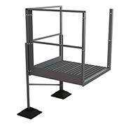 "U-Design Rooftop Platforms - 30""H Turn Platform For 3-Step Ladders - URTTP30"