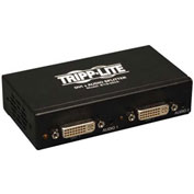 Tripp Lite 2-Port DVI Single Link Splitter Audio and Signal Booster F / 2xF
