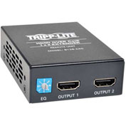 Tripp Lite 2-Port HDMI Over Cat5 Cat6 Audio Video Extender Remote Unit
