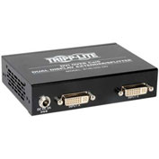 Tripp Lite 2-Port Dual Display DVI over UTP Cat5 Cat6 Extender Splitter