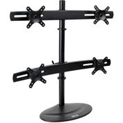 "Tripp Lite Quad Display TV LCD Desk Mount Swivel Tilt 10"" - 26"" Flat Screen"