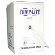 Tripp Lite 1000ft Cat5e Cat5 350MHz Bulk Solid-core PVC Cable Gray 1000'