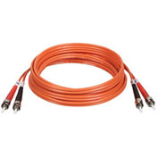 Tripp Lite 2M Duplex Multimode 62.5/125 Fiber Patch Cable ST/ST 6ft