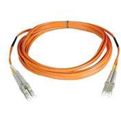 Tripp Lite 6M Duplex Multimode 50/125 Fiber Patch Cable LC/LC 20ft