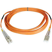 Tripp Lite 100M Duplex Multimode 50/125 Fiber Patch Cable LC/LC 328ft
