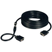 Tripp Lite 50ft VGA Coax Monitor Easy Pull Ext Cable High Resolution HD15