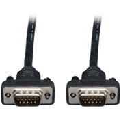 Tripp Lite 3ft Low Profile VGA Coax Monitor Cable High Resolution HD15 M/M