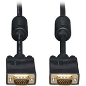 Tripp Lite 35ft VGA Coax Right Angle Monitor Cable High Resolution HD15 M/M