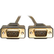 Tripp Lite 15ft VGA Monitor Gold Cable Molded Shielded HD15 M/M 15'