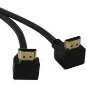 Tripp Lite 6ft High Speed HDMI Cable RT Angle Connectors Video Audio M/M 6'