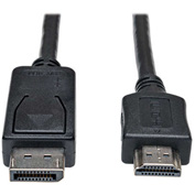 Tripp Lite DisplayPort to HD Cable Adapter HDCP 1080P M/M 10' 10ft