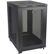 "Tripp Lite 18U Rack Enclosure Server Cabinet 33"" Deep w/ Doors & Sides"