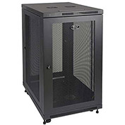 "24U Rack Enclosure Server Cabinet 33"" Deep w/ Doors & Sides"
