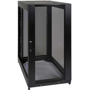 Tripp Lite SmartRack 25U Standard Rack Enclosure Cabinet with Doors, No Side Panels