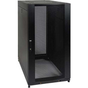 Tripp Lite SmartRack 25U Standard Rack Enclosure Cabinet with Doors/Side Panels & Shock Pallet