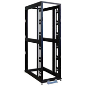 "Tripp Lite 42U 4-Post Open Frame Rack Cabinet, 36"" Depth, No Sides, Doors or Roof"