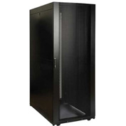 Tripp Lite SmartRack 45U Deep and Wide Rack Enclosure Cabinet with Doors & Side Panels
