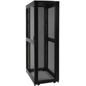 Tripp Lite 45U Rack Enclosure Server Cabinet Doors No Sides 3000lb Capacity