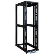 Tripp Lite 48U 4-Post Open Frame Rack Cabinet Square Holes 3000lb Capacity
