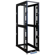Tripp Lite 48U 4-Post Open Frame Rack Server Cabinet w/ Heavy Duty Casters