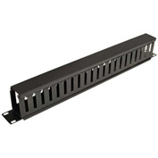 Tripp Lite Rack Enclosure Horizontal Cable Manager (finger duct) 1URM
