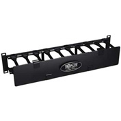 Tripp Lite Rack Enclosure Horizontal Cable Manager Steel w Finger Duct 2URM