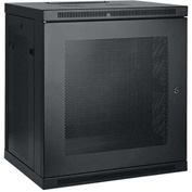 Tripp Lite 12U Wall Mount Rack Enclosure Cabinet w/ Door & Side Panels