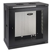 "Tripp Lite 12U Wall Mount Rack Enclosure Cabinet Wallmount 13"" Depth"
