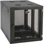 Tripp Lite 12U Wall Mount Rack Enclosure Cabinet Side Mount Wall Mount