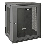 Tripp Lite 15U Wall Mount Rack Enclosure Server Cabinet Hinged Wall Mount