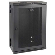 "Tripp Lite 18U Wall Mount Rack Enclosure Cabinet Hinged Wallmount 13"" Depth"