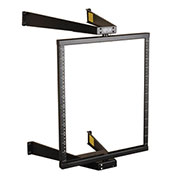 Tripp Lite 12U Wall Mount Pivoting Open Frame Rack Cabinet Hinged