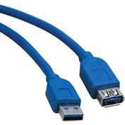 Tripp Lite 10ft USB 3.0 SuperSpeed Extension Cable A Male to A Female 10'