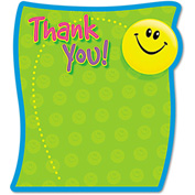 "TREND® Thank You Note Pad T72030, 5"" x 5"", Multicolor, 50 Sheets/Pad, 1/Pack"
